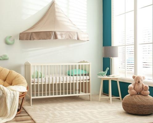 Taux d'humidité dans une chambre de bébé : quel pourcentage ?